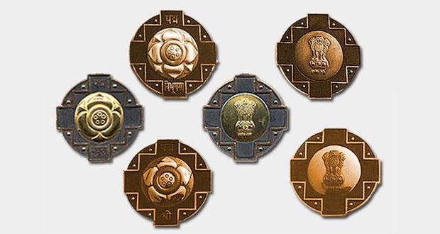 Civilian awards in Medicine - 2012