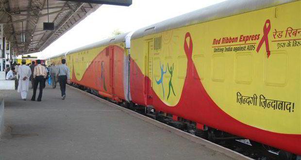 Red ribbon express- AIDS