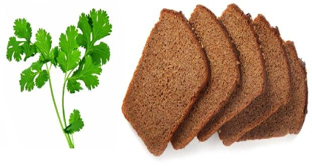 Coriander fortified bread is healthier: Study