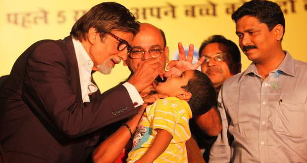 India becomes a polio free country
