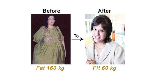 What you can learn from Naini Setalvad's amazing weight loss story