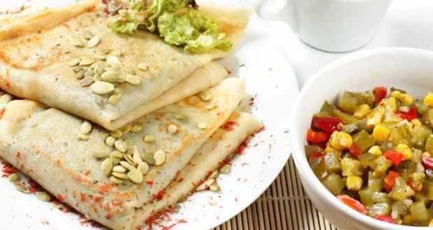 Tasty weight loss recipe: Cucumber pancakes
