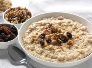 breakfast-oats porridge