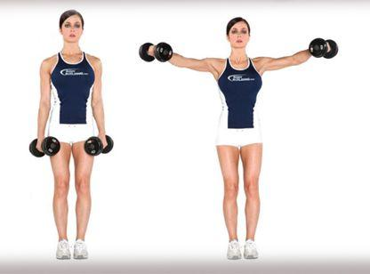 Know your exercise: Dumbbell side raise