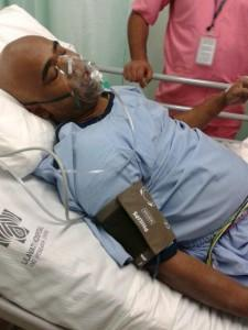 Vinod Kambli admitted to a hospital after complaining of chest pain and uneasiness