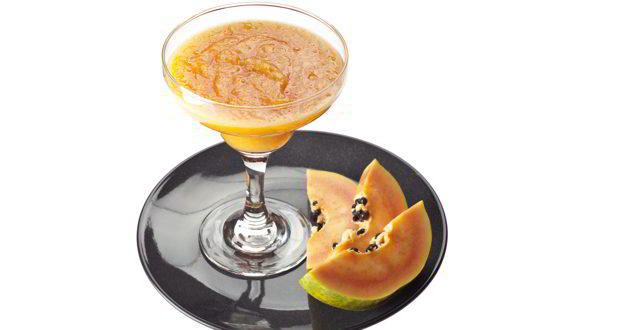 papaya orange smoothie
