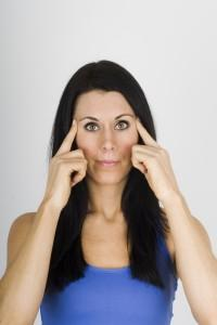 Can I get rid of under-eye dark circles with yoga? (Beauty query of the day)