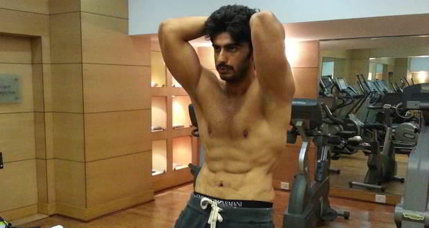 Arjun Kapoor Gunday body
