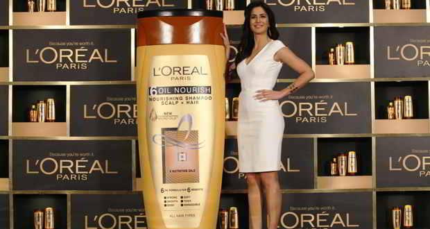 Product launch: Katrina Kaif launches L'Oreal Paris 6 Oil Nourish range