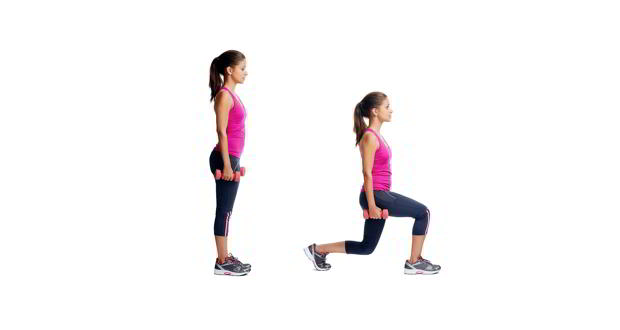 Know your exercise – Lunges to tone your thighs and hips