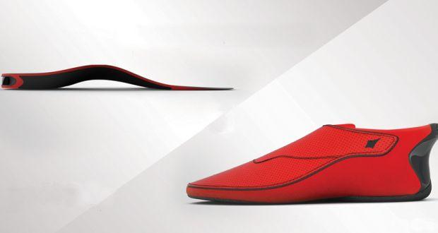 LECHAL - A shoe that can guide visually impaired to their destination