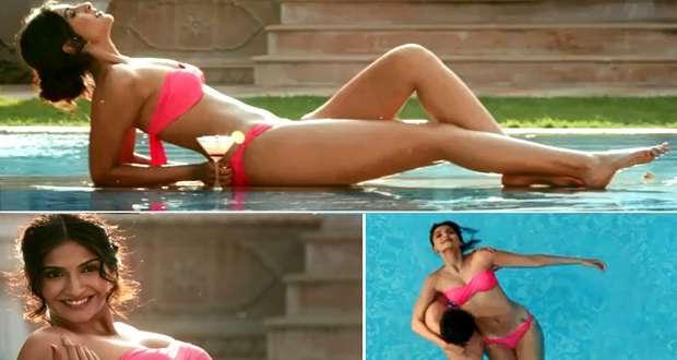 Sonam Kapoor bikini body Bewakoofiyaan