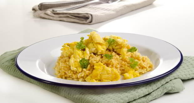 masala scramble egg white