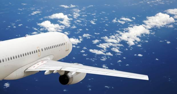 Airplane traffic in air enters health danger zone