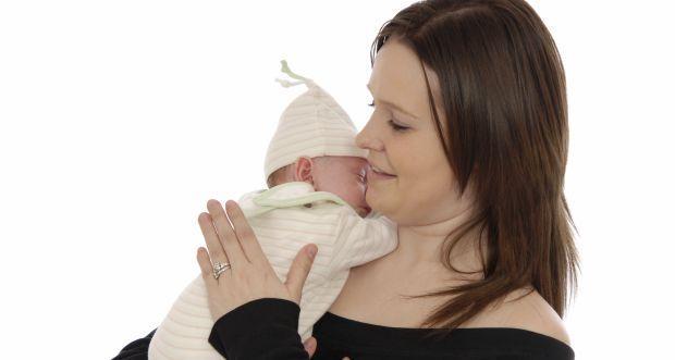 Burping the baby