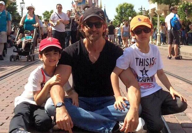 hrithik children