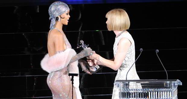 Rihanna sheer dress