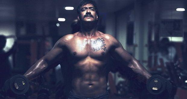 Fitness freak Ajay Devgn converts his vanity van into a gym