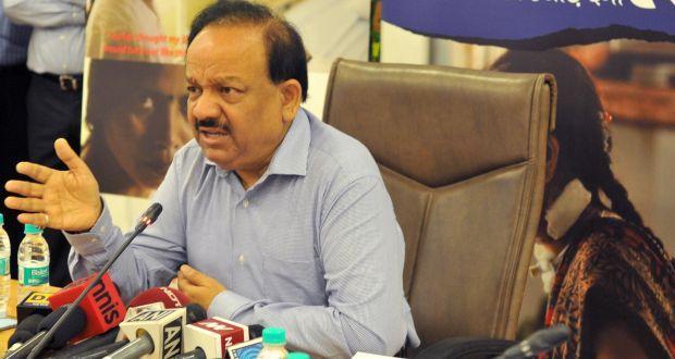 Union Health minister Dr. Harsh Vardhan