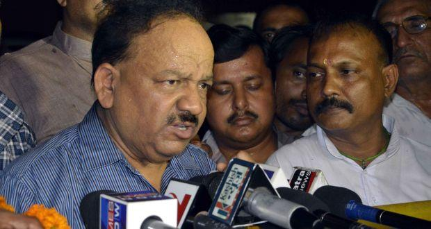 Dr Harsh Vardhan promises to put healthcare before politics