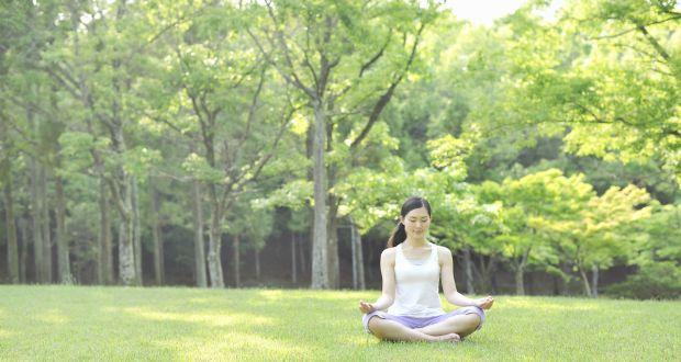 Shitali pranayam—a yoga pose to help you relax and cool down