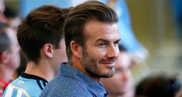 David Beckham fab abs
