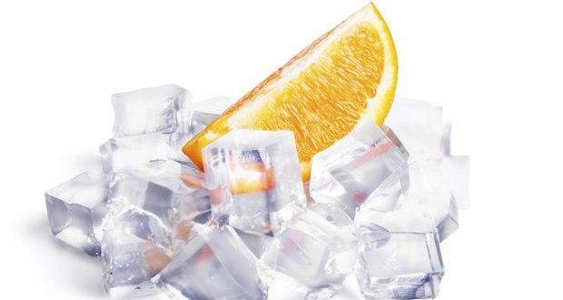 How ice benefits skin
