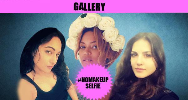 celebs with no make-up