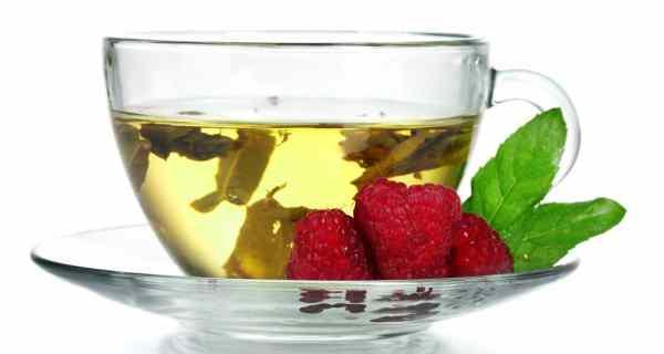 Rasp berry leaf tea
