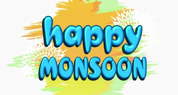 Happy monsoons