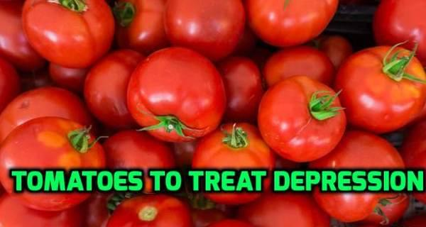 Fight depression with tomatoes