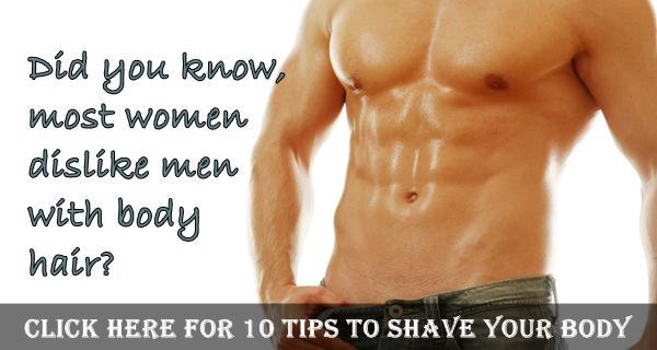 body hair shaving