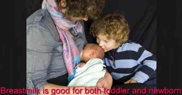 World Breastfeeding Week 2015: Breastfeeding a toddler and a newborn together?