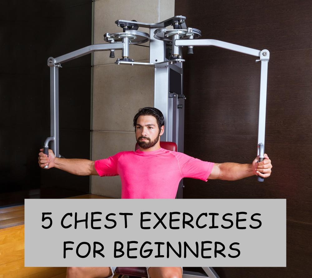 Chest exercises for beginners