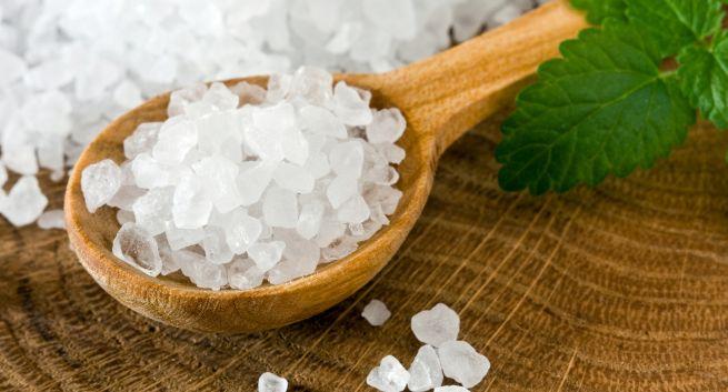 Exfoliate dry skin with this homemade sea salt face scrub