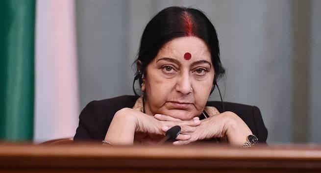 External Affairs Minister Sushma Swaraj suffers kidney failure, needs a donor