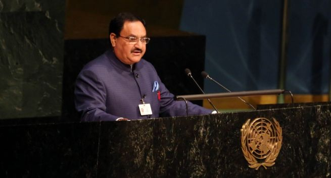 JP Nadda stresses the need to reach out to 90 % of HIV patients for treatment