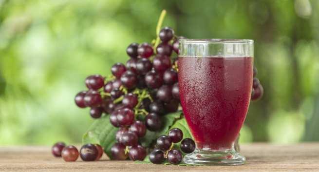 Health benefits of grape juice