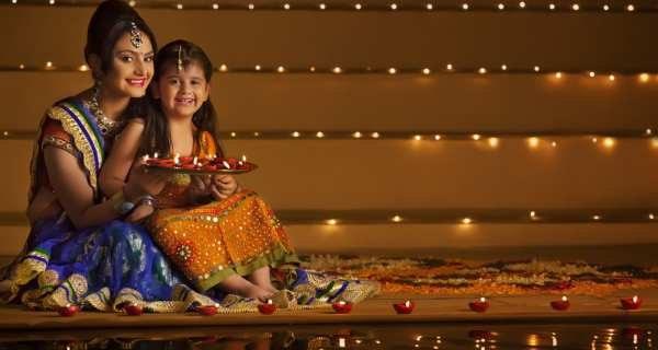 Kids diwali