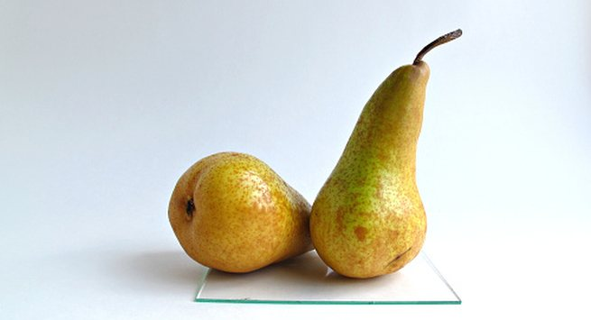 Your body type is pear shaped