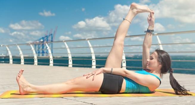 Leg Raise Exercise Hindi