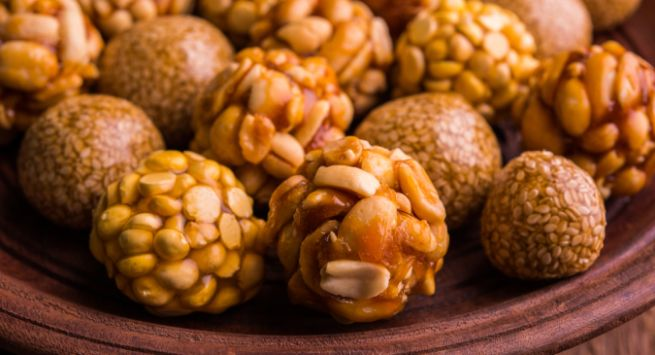 Makar sankranti ladoo Hindi