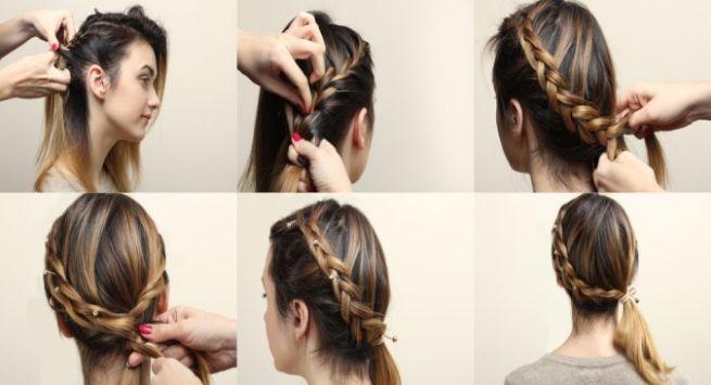 Trendy hairstyle Hindi