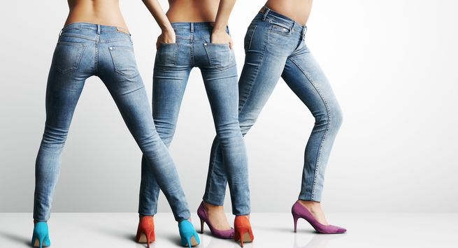 Exercises to make your jeans fit you well