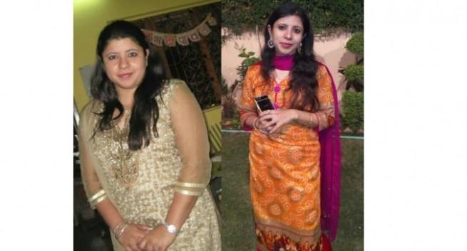 Sanya-real-life-weightloss-story-marathi