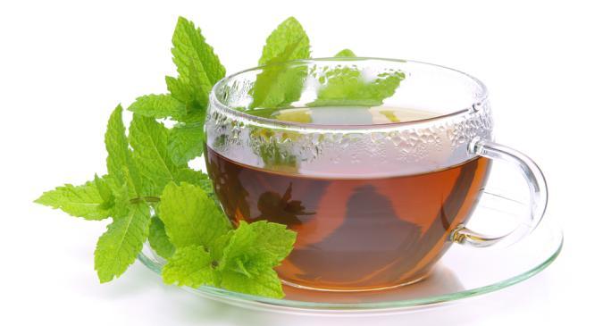 Suffering from an upset stomach? Drink peppermint tea