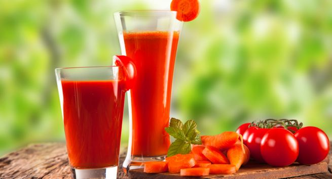 The red juice