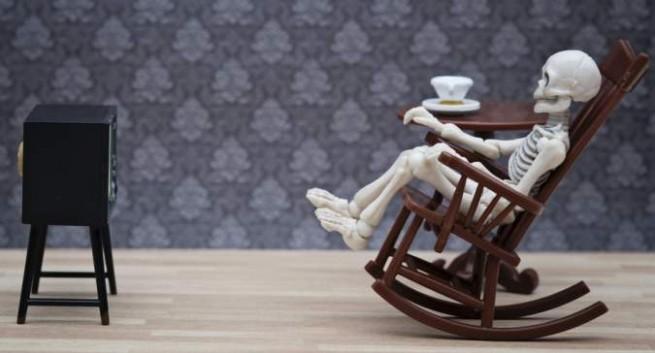 sedentary life and bones