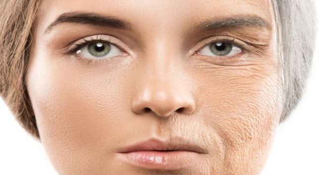 Food that shows your skin aged Hindi