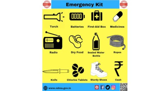 Floods dos and don'ts: Emergency kit and what you should do